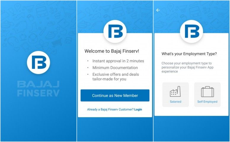 Get Business Loan Approval Via Bajaj Finserv App In 2020 Credit Card App App Investment Services
