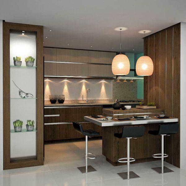 Ideas para Diseño de Desayunadores Islas o barras para la cocina ...
