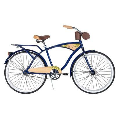 Huffy Men S Panama Jack 26 Cruiser Bike Blue Bicycles