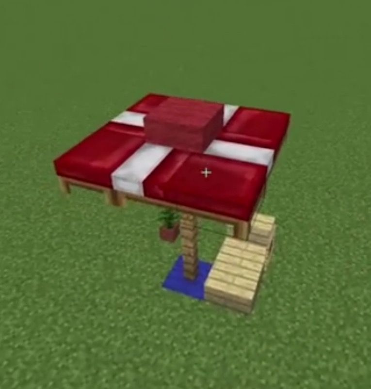 How To Make An Umbrella Minecraft Ideas Pinterest Minecraft