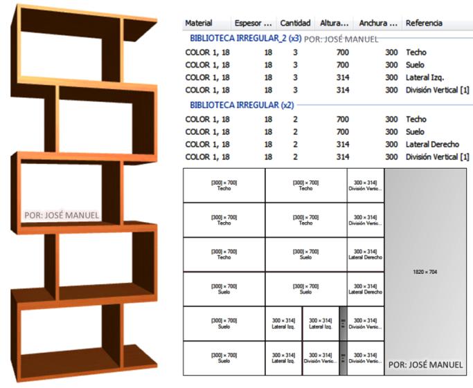 Dise o de muebles madera dise o biblioteca 2014 for Programa de diseno de muebles de cocina