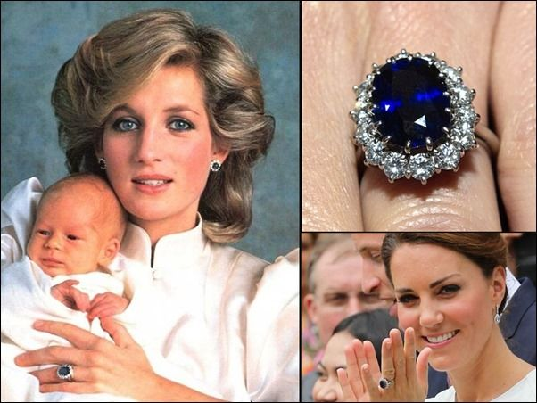 Most Famous Sapphires Of The World Royal Crown Jewels William Kate Wedding Silver Druzy Necklace