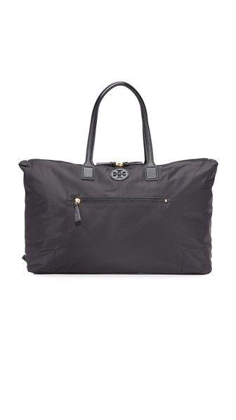 Ella Packable Overnight Satchel   Travel   Pinterest   Satchel, Tory ... 4b3586e1c8