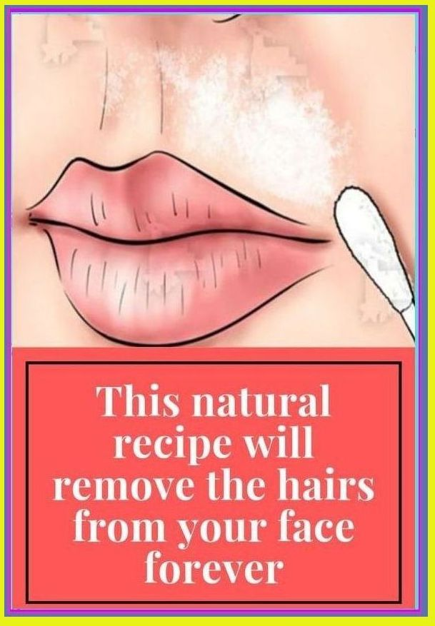 This natural recipe will remove the hairs from you