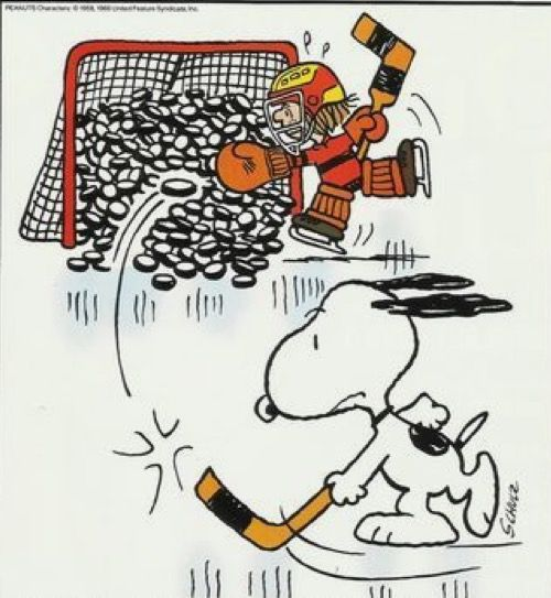 Snoopy Hockey Hockey Humor Snoopy Funny Snoopy Love