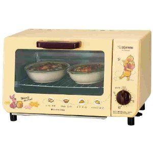 ZOJIRUSHI Winnie the Pooh toaster oven! | Have to have | Pinterest