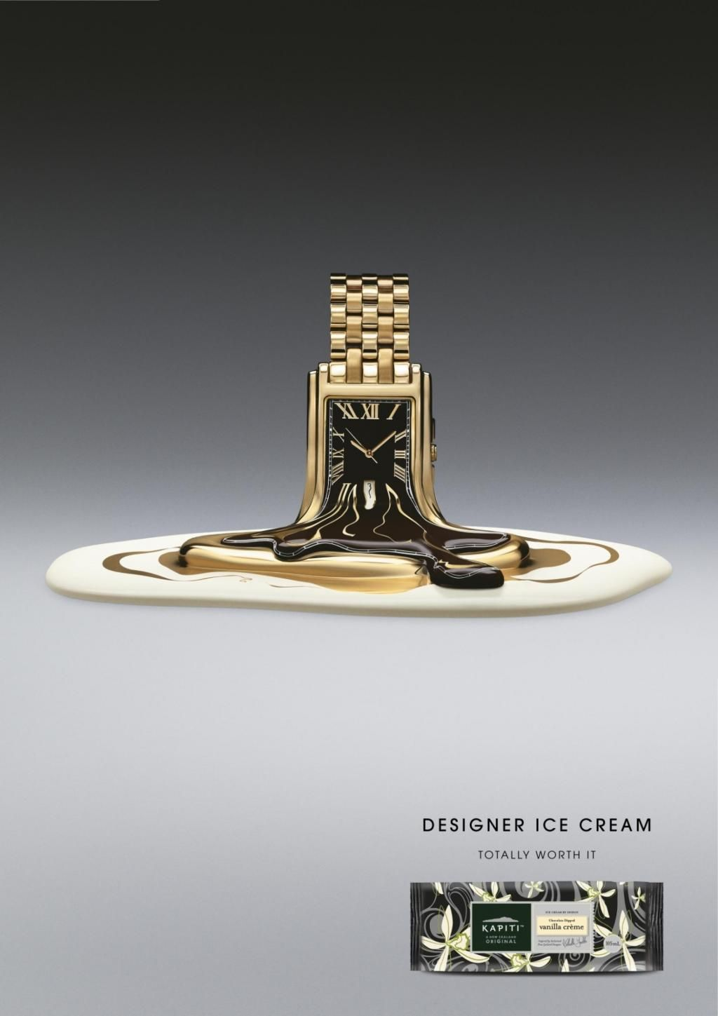 Kapiti ice cream watch print ad by colenso bbdo for Room design kapiti