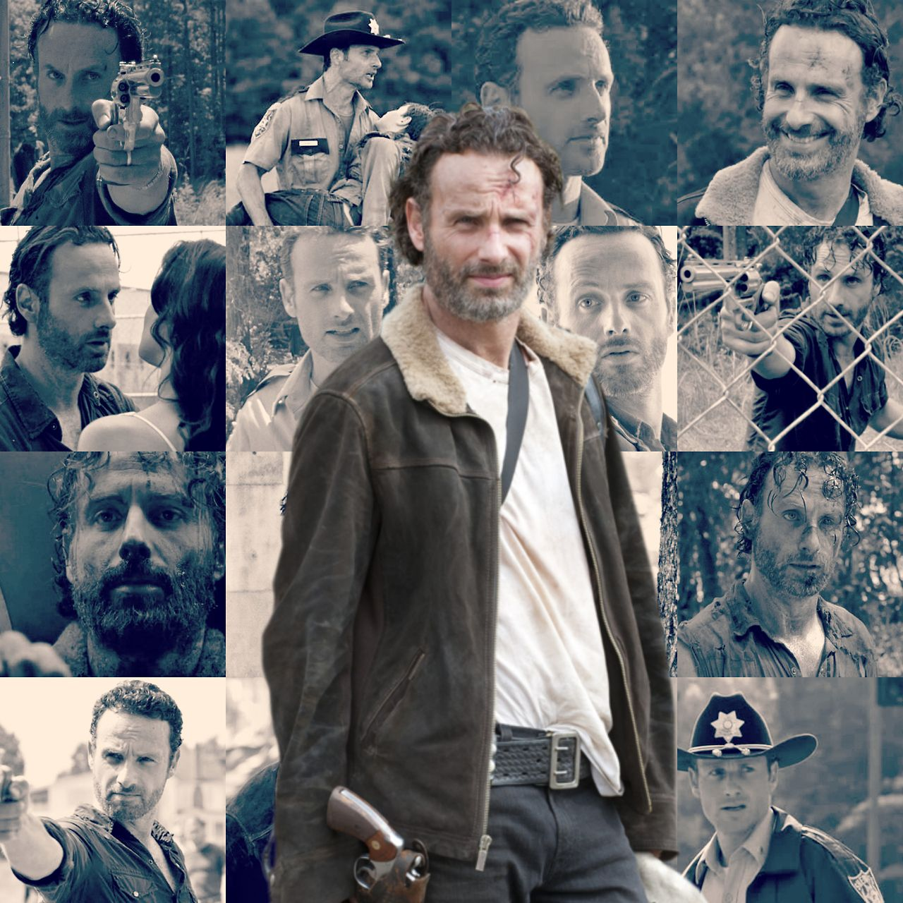 """Pin By Andrew Garberolio On Bentley: Rick Grimes / Andrew """"Andy"""" Lincoln On Pinterest"""