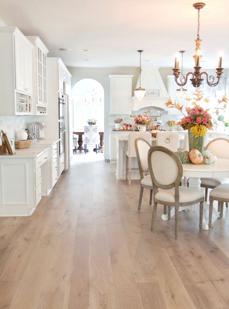 Photo of New #wood #flooring #real #in # kitchen #and