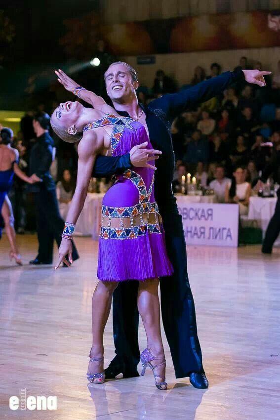 Riccardo and Yulia rumba | Dance outfit | Pinterest | Baile, Salón y ...