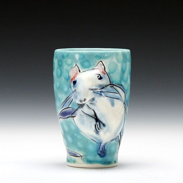 A Sweet Mouse Cup By Bernadette Curran  My Teacher Last Summer At Haystack  Mountain School