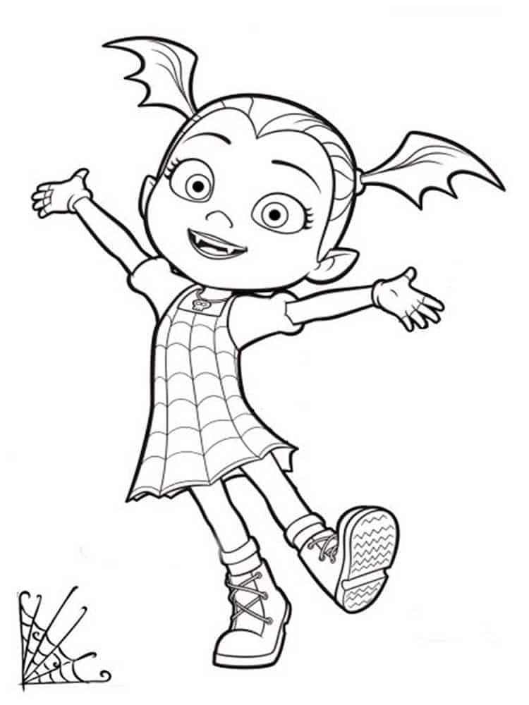 Vampirina 22 Printable Coloring Pages For Kids Disney Coloring Pages Mermaid Coloring Pages Toy Story Coloring Pages