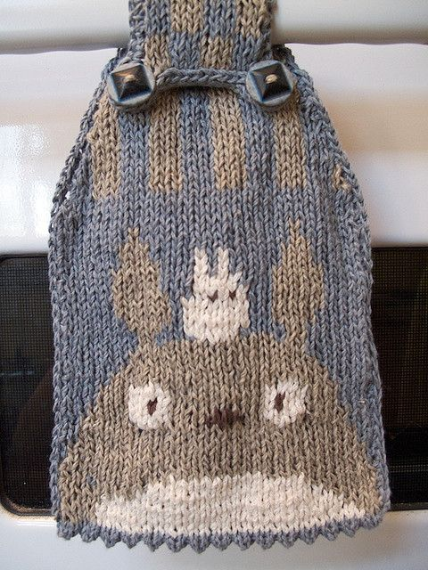 My Neighbor Totoro Knitting Pattern F I B R E A R T