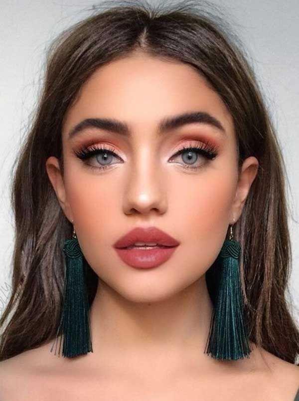15 Maquillaje para fiesta de dia en jardin