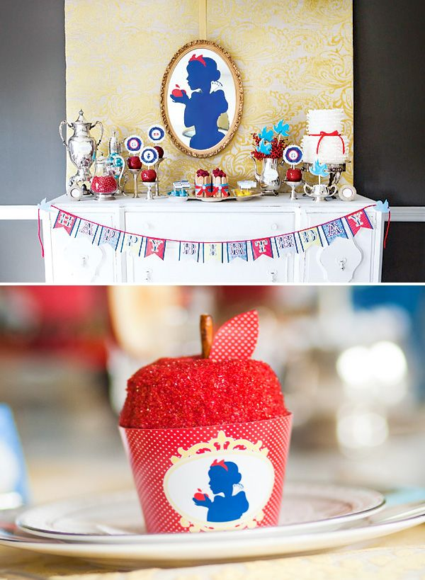 Snow White themed party