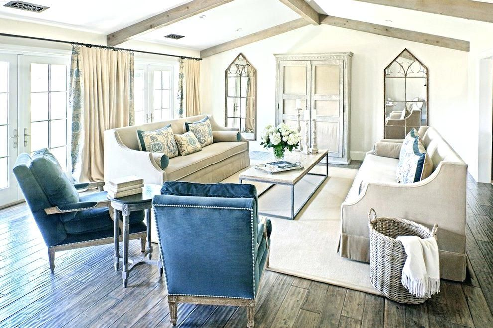 Beige und Blau Wohnzimmer Innenarchitektur 2018 Pinterest
