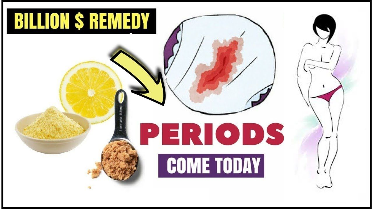 How To Make My Period Come Today Immediately- To Get Regular