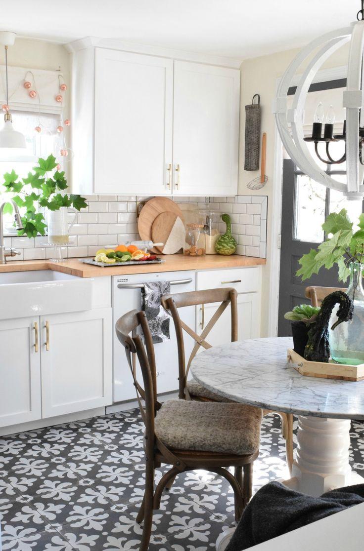 Eclectic Fall Home Tour | Kitchen Inspiration | Pinterest | Vintage ...