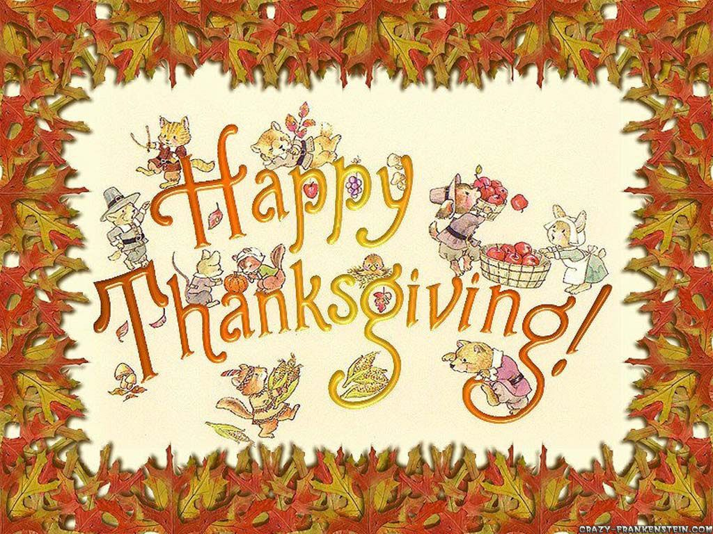 So much to be thankful for. Wishing everyone a Happy Thanksgiving ...