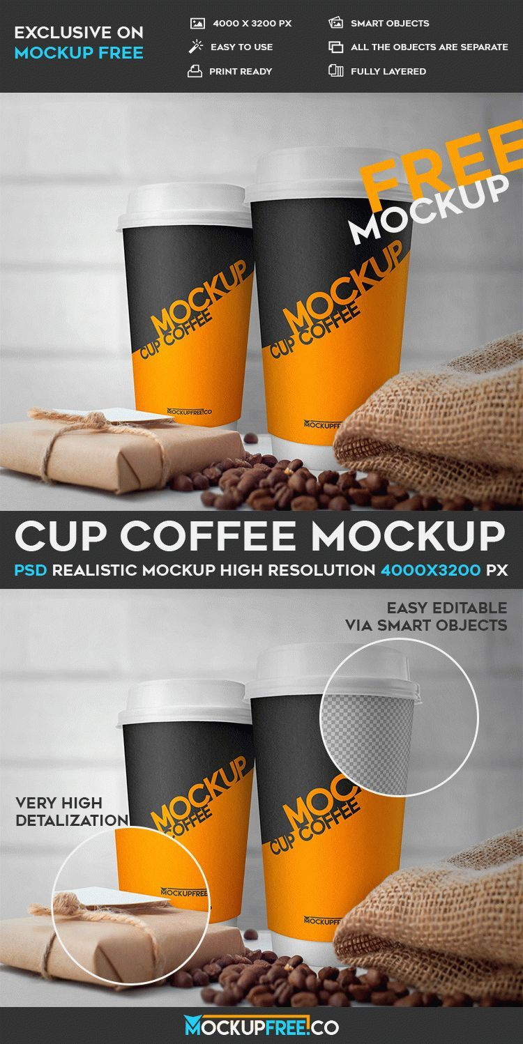 Download Cup Coffee Free Psd Mockup Download Mockup Free Psd Coffee Cup Design Mockup Psd
