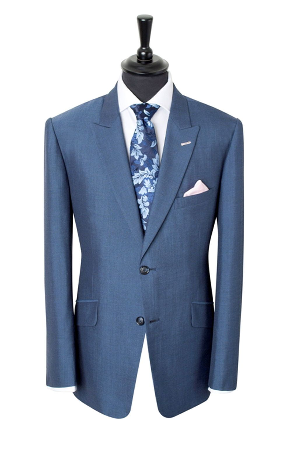 Light Blue Suit from King & Allen | blue suit | Pinterest | Light ...