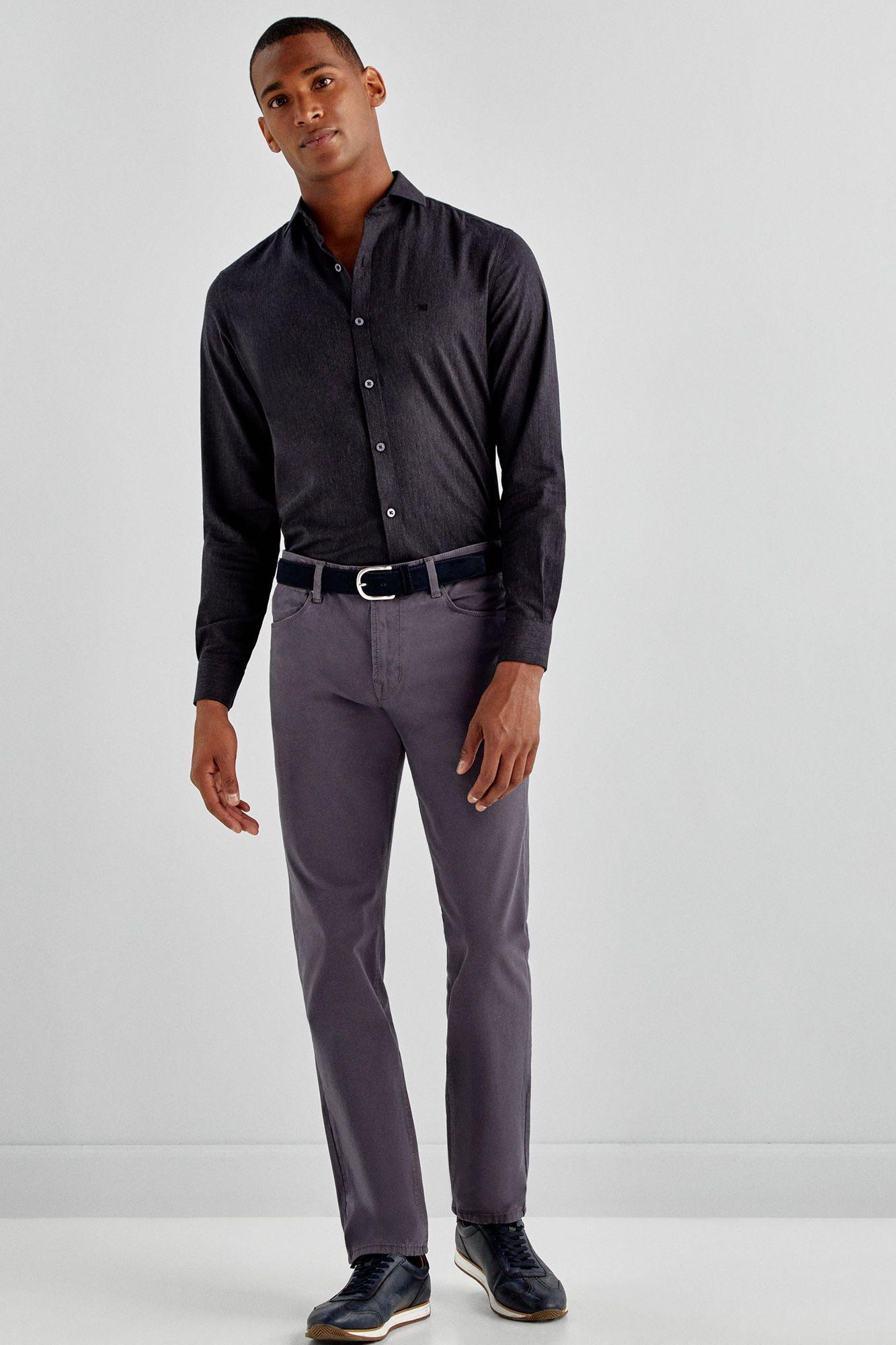 56f3be92c5 Pantalón cinco bolsillos premium flex slim fit