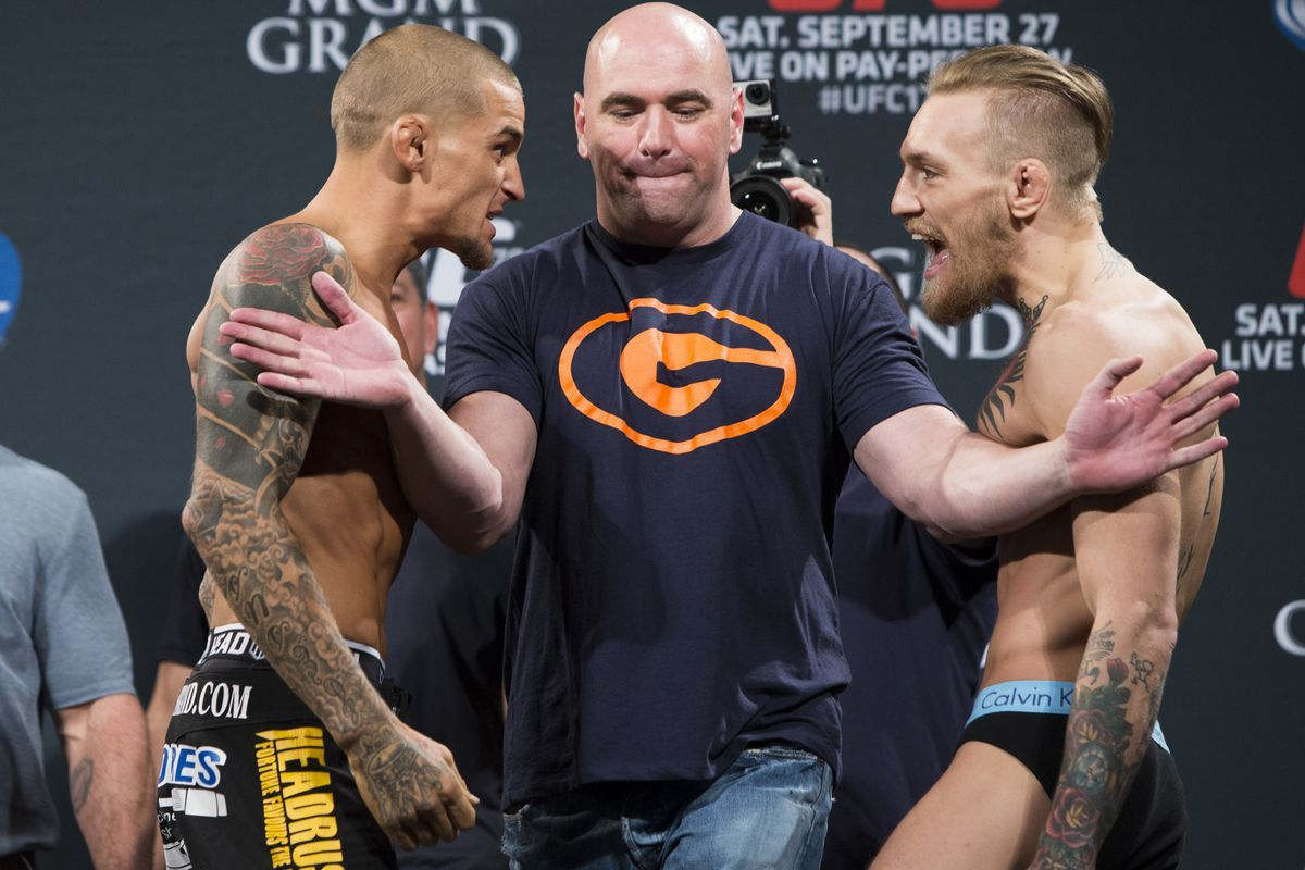 Conor mcgregor vs dustin poirier fight ufc 257 live tv