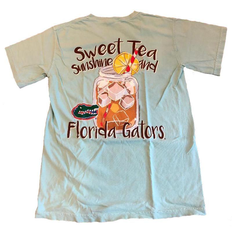 3c585176adb0 Florida Gators Comfort Colors Sweet Tea Glass T-Shirt | Florida ...