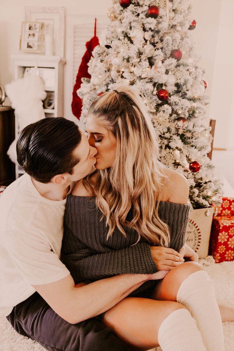 In Home Christmas Shoot — JMikayla Photography -   14 christmas photoshoot couples studio ideas