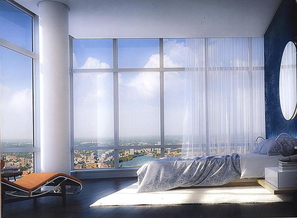 The Penthouse In Millennium Tower Boston Via Boston Globe