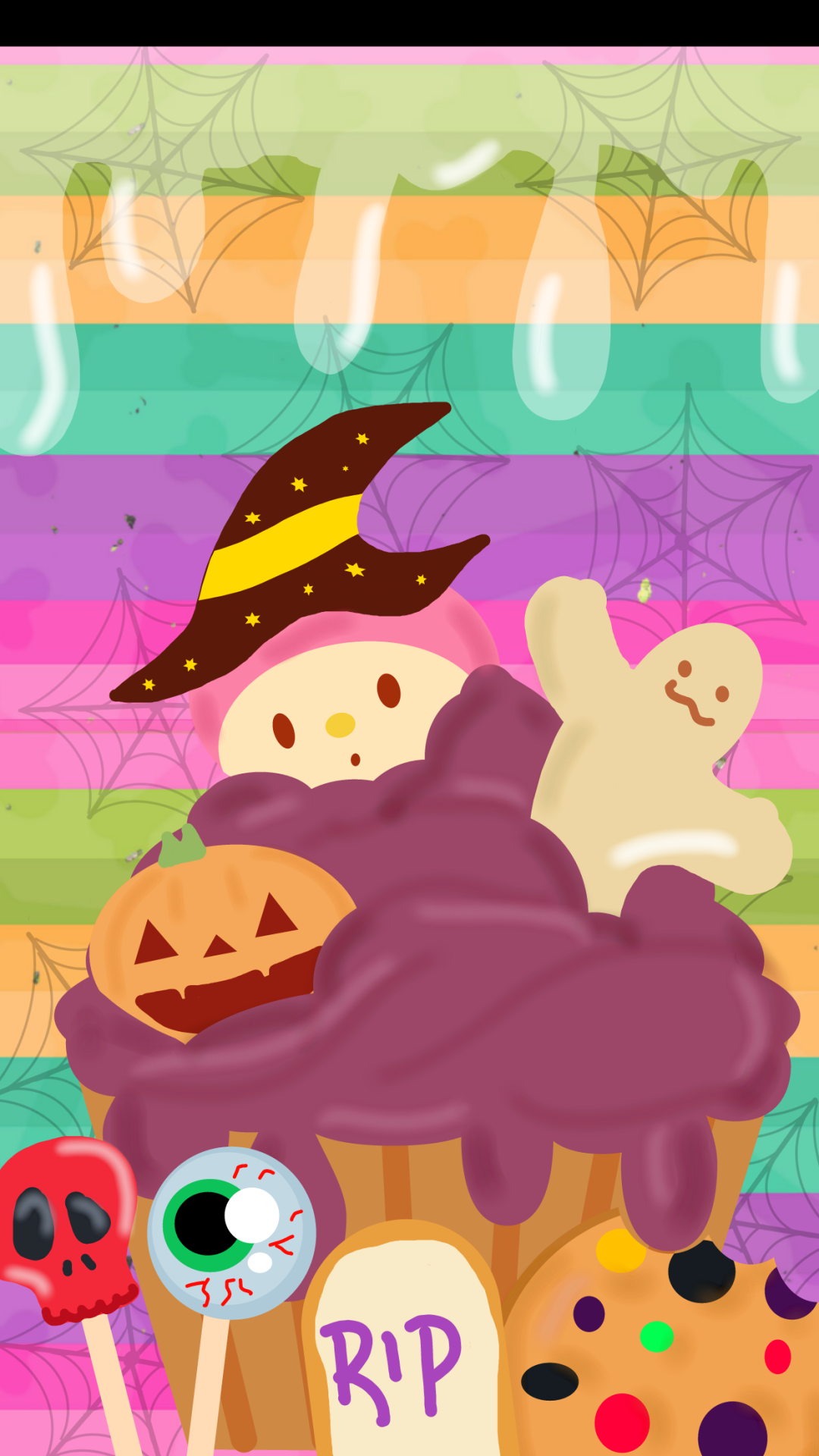 Halloween Cupcake Made By Me With Images Halloween Wallpaper Cupcakes Wallpaper Cute Wallpapers