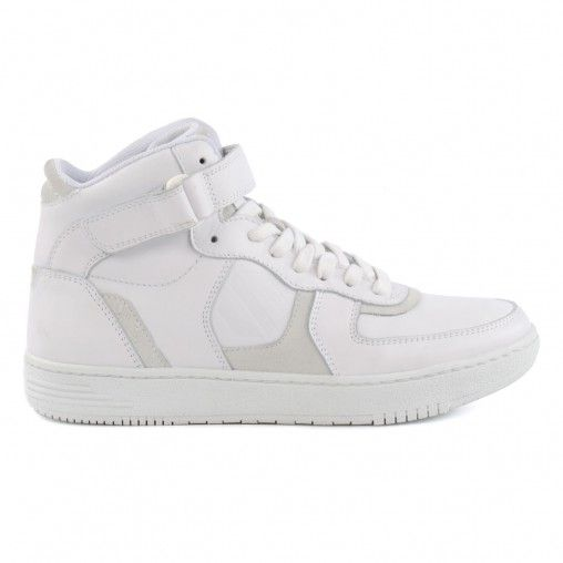 Witte hoge sneakers - THE ACE GIRL | Sneakers, High top ...
