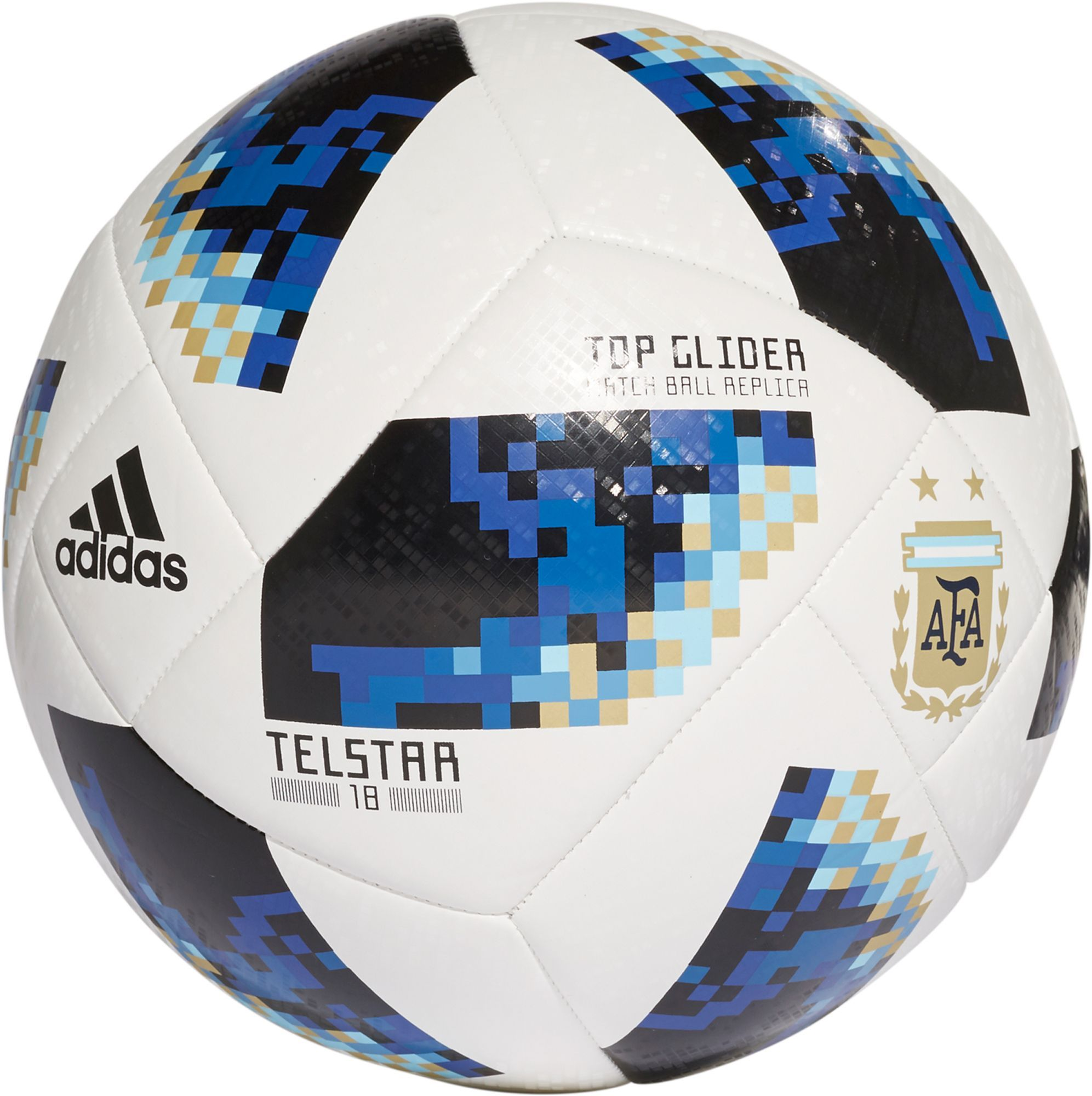 Adidas 2018 Fifa World Cup Russia Argentina Supporters Glider Soccer Ball White Soccer Ball Soccer Soccer Balls
