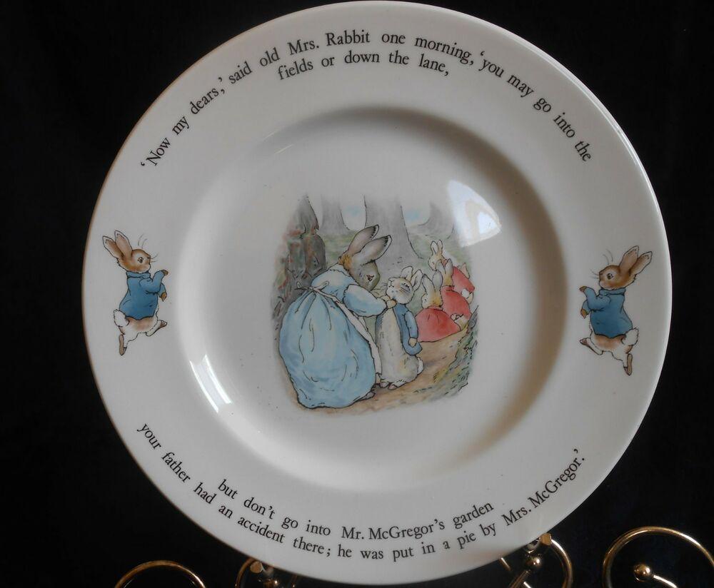 Wedgwood Peter Rabbit Nursery Ware Dinner Plate
