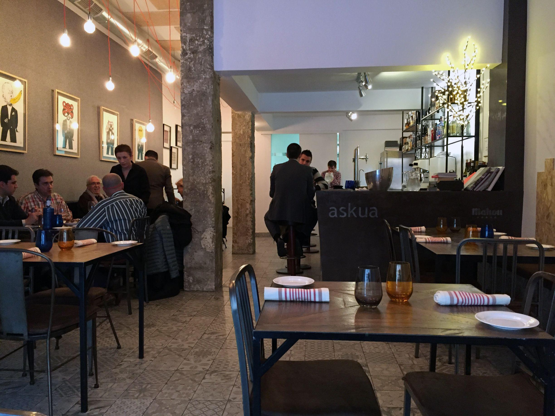 Restaurante AskuaBarra | Around Madrid | Pinterest