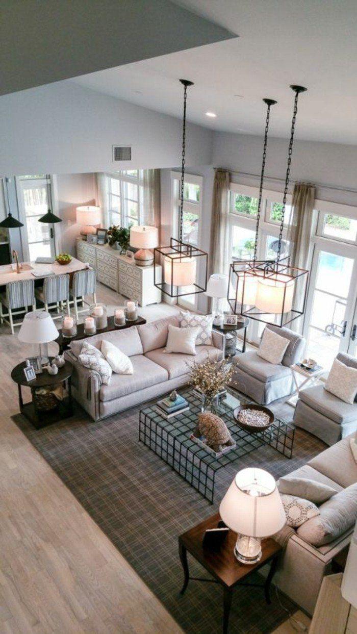 1001 Idees Pour Amenager Une Chambre En Longueur Des Solutions Petits Espaces Beautiful Living Rooms Living Room Furniture Arrangement Home Decor