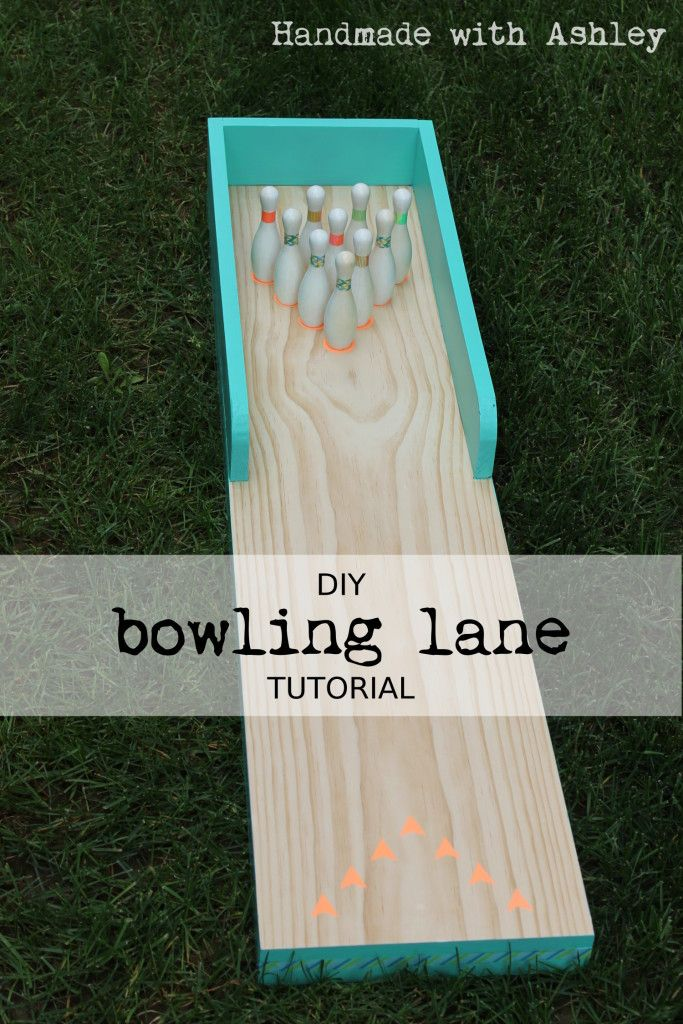 Diy bowling lane tutorial tutorials and scrap diy bowling lane tutorial solutioingenieria Images