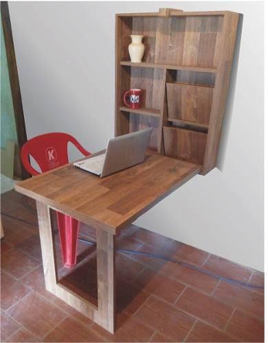 Mesa retr til prateleiras - Mesas para ordenador pequenas ...