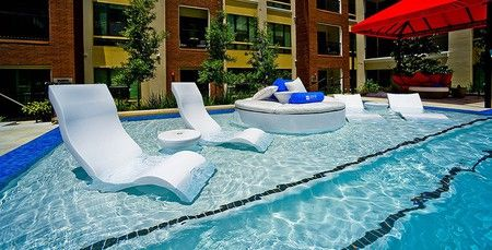 Tanning Ledge Pool Chair In 2019 Lounge Outside Pool