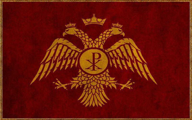 Original Byzantine Flag Greek Flag Byzantine Empire Flag