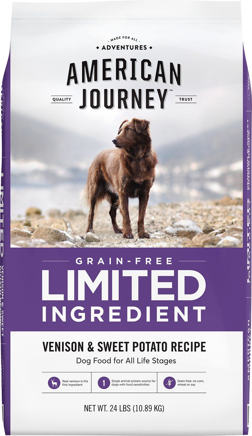 American Journey Limited Ingredient Grain Free Venison Sweet