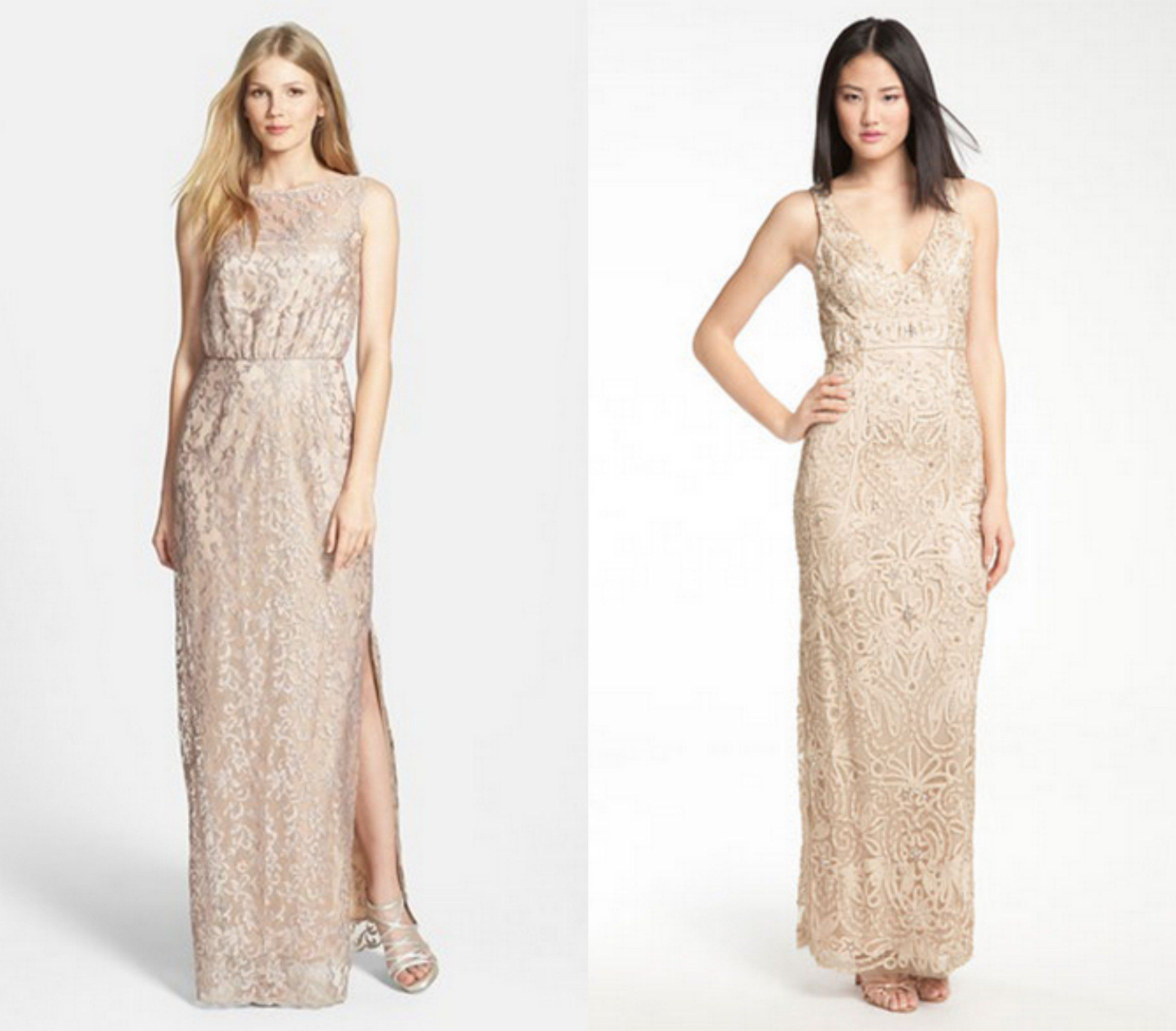 Champagne bridesmaid dresses champagne champagne bridesmaids champagne bridesmaid dresses ombrellifo Images