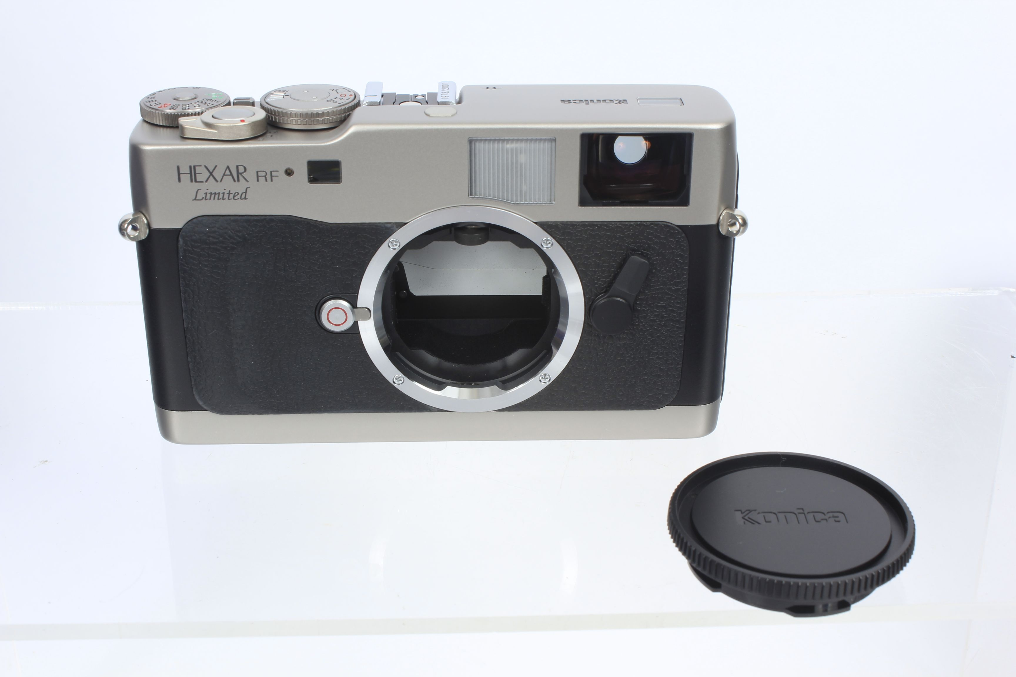 Often times rare is what sells. For example, this Konica Hexar RF Limited Silver 35mm Rangefinder with 50mm f/1.2 lens went for $3,055.00!  #camera #Film #photography #filmphotography #35mm #rangefinder #Konica #Hexar #knoicahexar