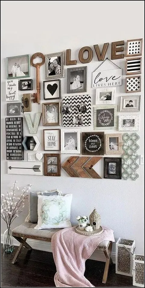 151 beautiful aesthetic room decorations for your ... on Room Decor Paredes Aesthetic id=68230