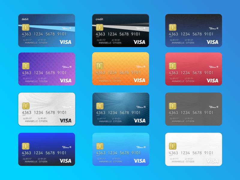 credit card design creditcard Sketch App Sources, 2020