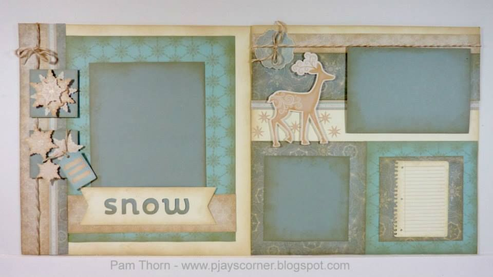 From Pam Thorn. Gorgeous! Frosted paper pack.