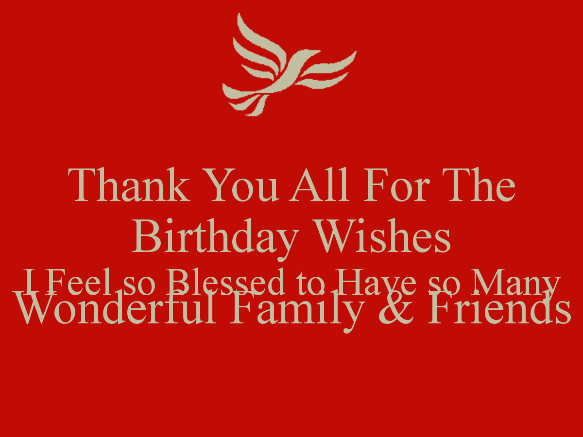 Thank You All For The Birthday Wishes I January Birthdays