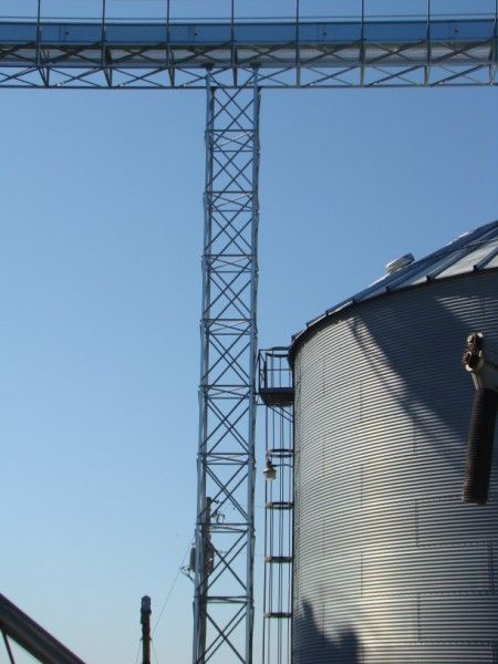 Support Tower For Conveyor Grain Storage Conveyor Grains