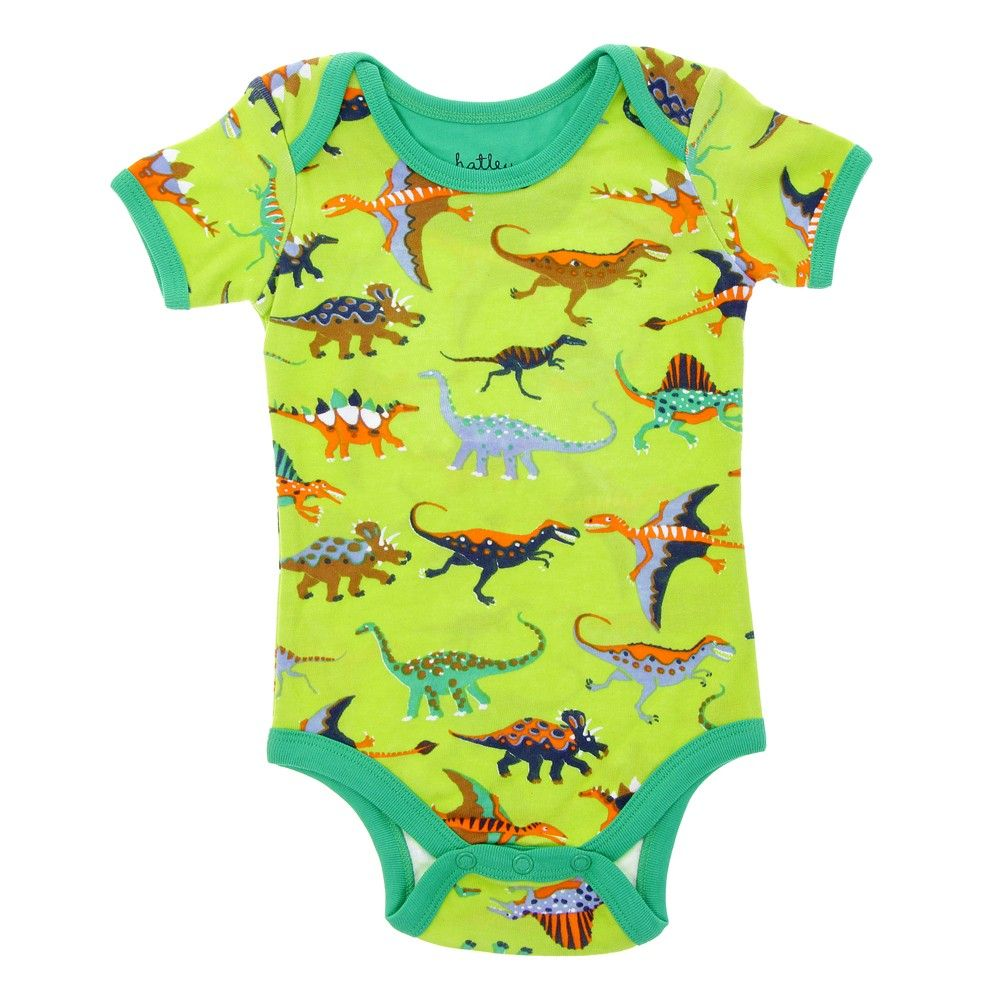 d348abe023b7 Lime green dinosaur romper suit - The perfect romper suit for your own  little hatchling. With a vibrant lime background and an awesome bright  dinosaur ...
