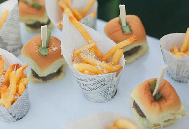 Wedding food trends to serve at your reception. | Receptions ...